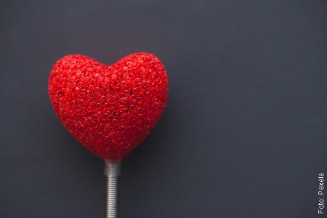 imagen de un corazón rojo