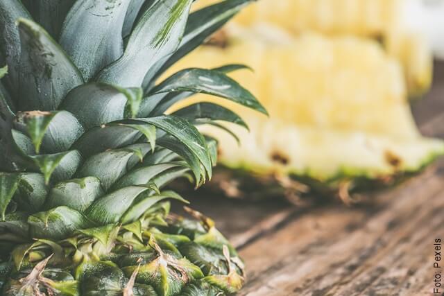 foto de piña fruta
