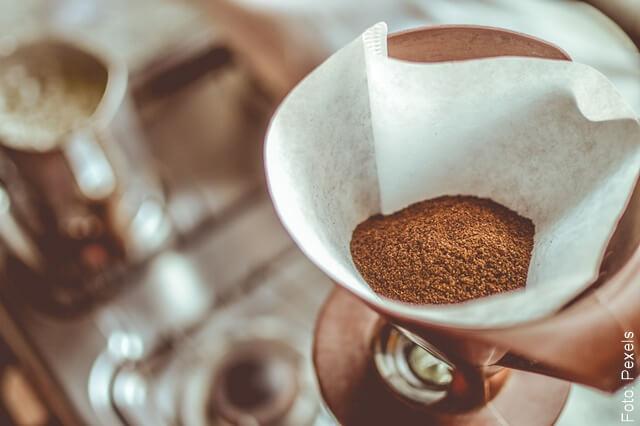foto de café molido