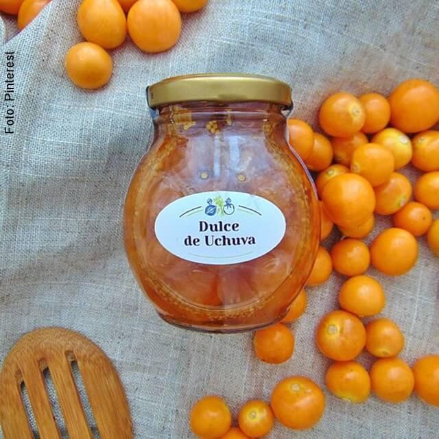 foto de dulce de uchuva