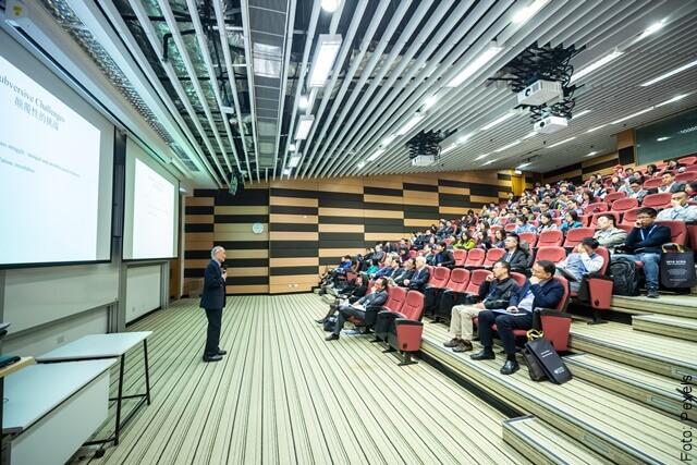 imagen que muestra un auditorio con público