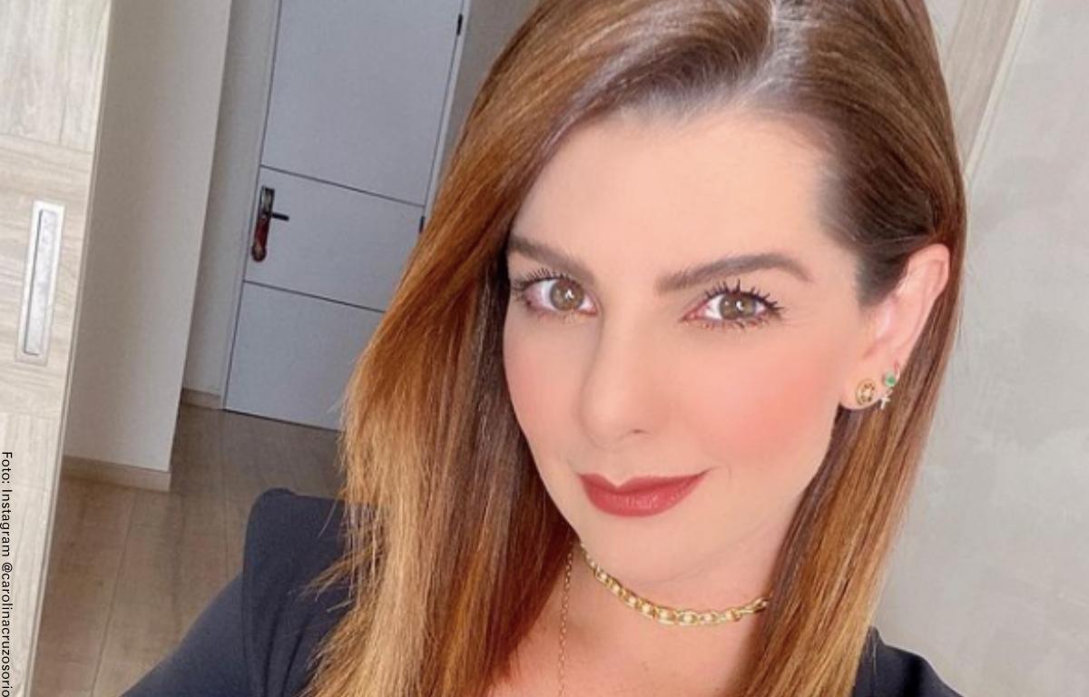Carolina Cruz respondió a las críticas que recibió por la niñera de sus hijos