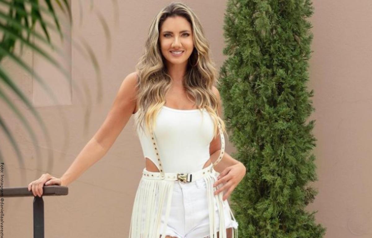 Daniella Álvarez apareció en redes para presumir su figura en bikini
