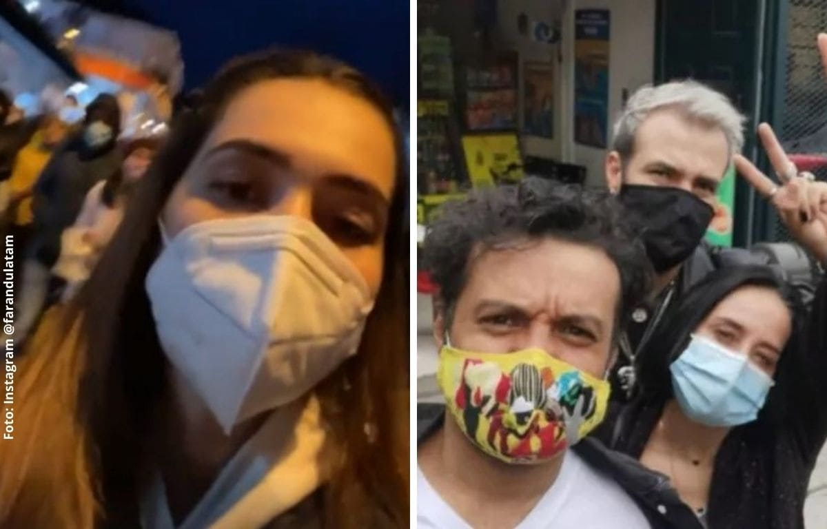 Famosos que salieron a protestar en contra de la Reforma Tributaria