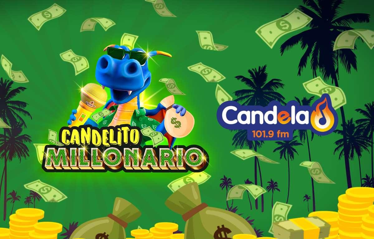¡Gana con 'Candelito Millonario'!