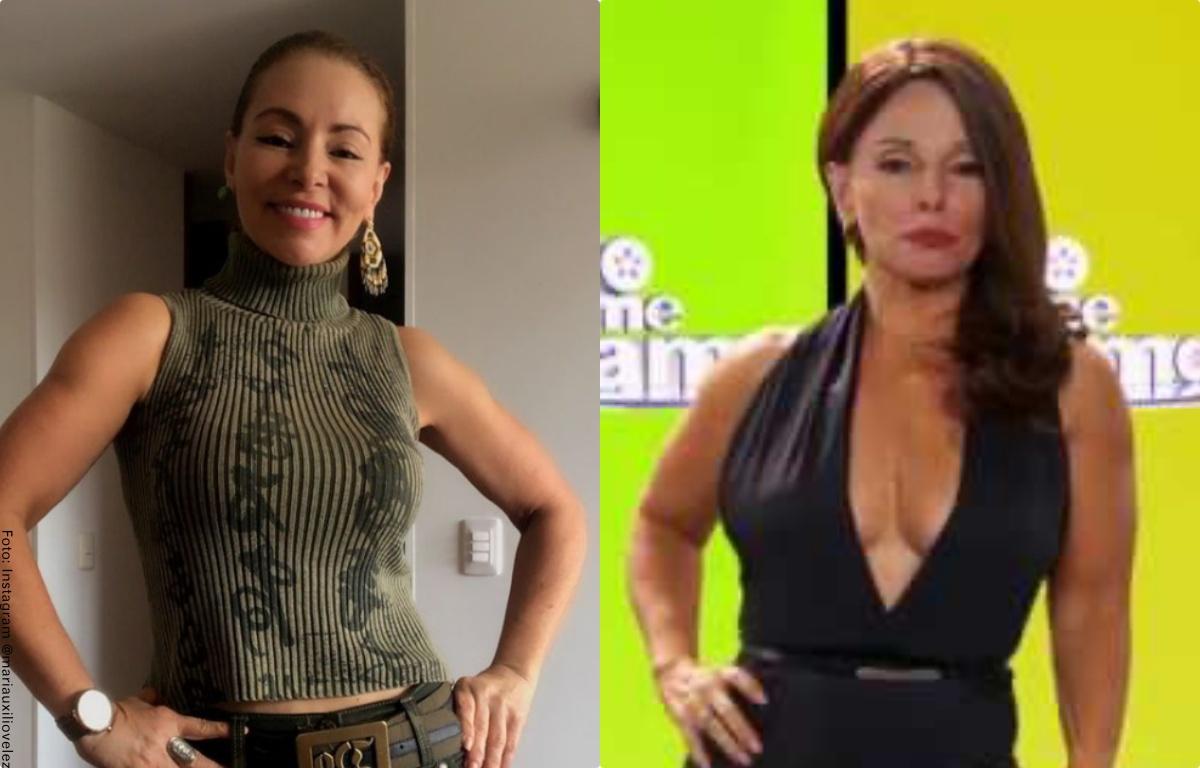 María Auxilio Vélez, humorista de 'Sábados Felices', casi pierde la pierna