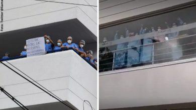 Médicos conmueven al mostrar su apoyo al Paro Nacional
