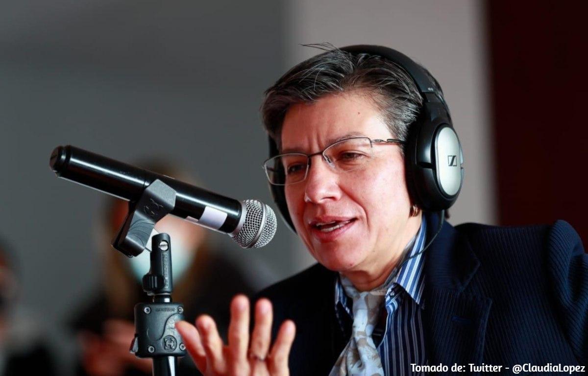 Nueva estrategia de Claudia López para combatir inseguridad en Bogotá
