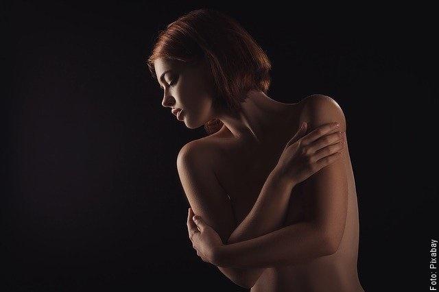 foto de mujer con piel saludable