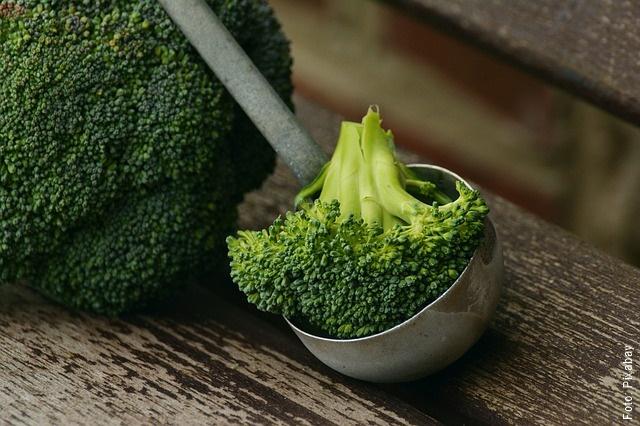 foto de brócoli en la cocina