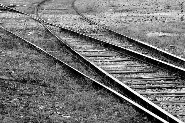 foto de vías férreas