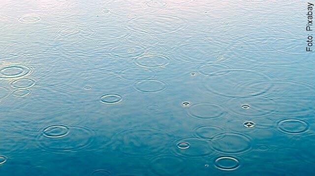 imagen de gotas de lluvia suaves