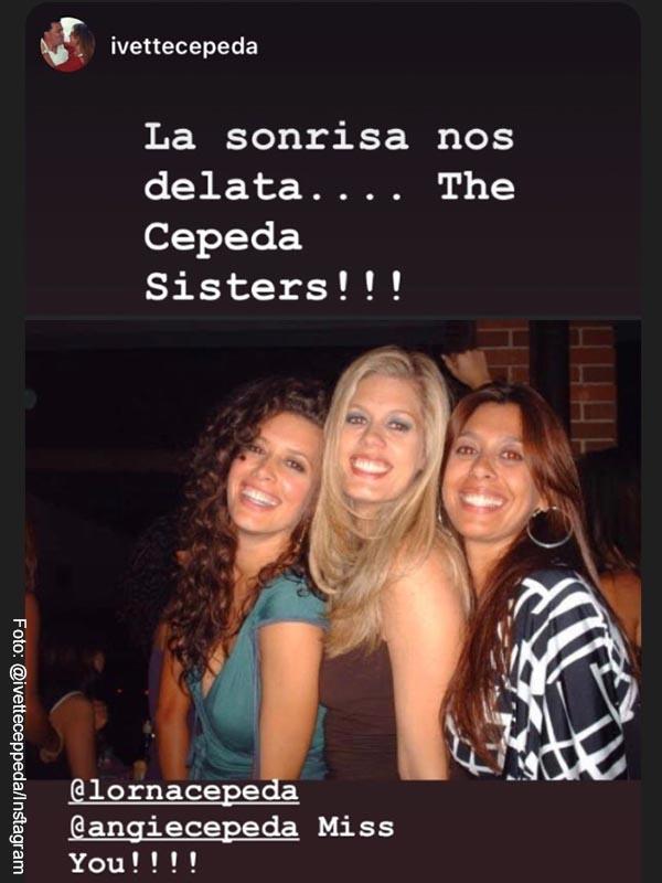 TBT de las hermanas Cepeda revela sus cambios físicos