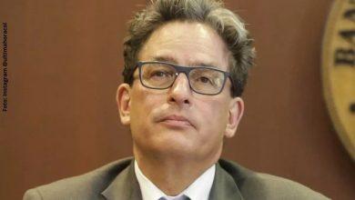 Alberto Carrasquilla renunció al Ministerio de Hacienda