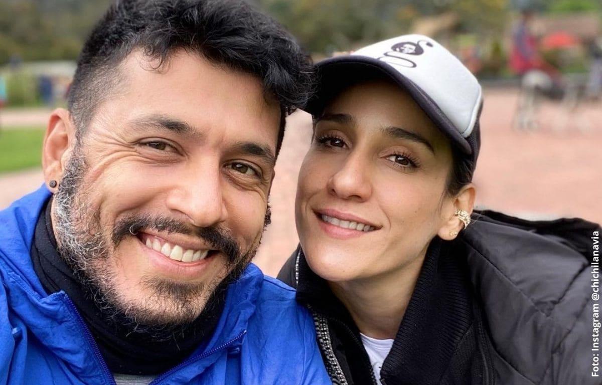 Chichila Navia habla tras rumores de separación con Santiago Alarcón