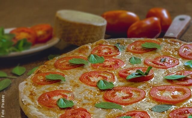 foto de pizza casera