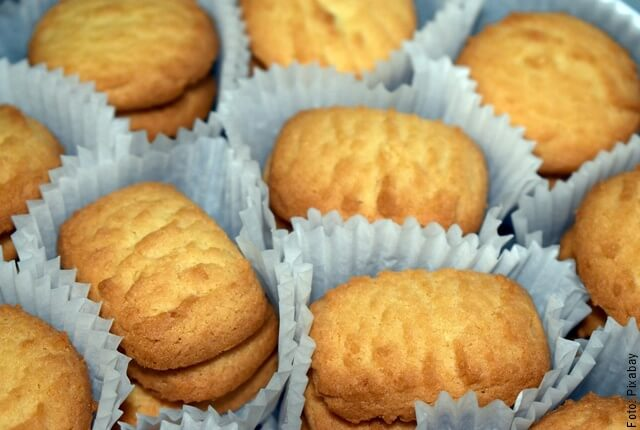 foto de cómo hacer galletas de mantequilla
