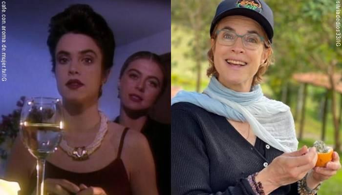 Foto de Silvia de Dios en Café vs. 2021 para ilustrar cómo ha cambiado el elenco original de Café con aroma de mujer