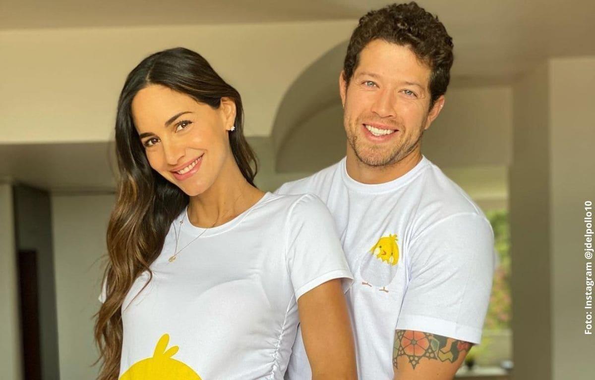 Esposo de Valerie Domínguez le hizo pesada broma sobre el embarazo