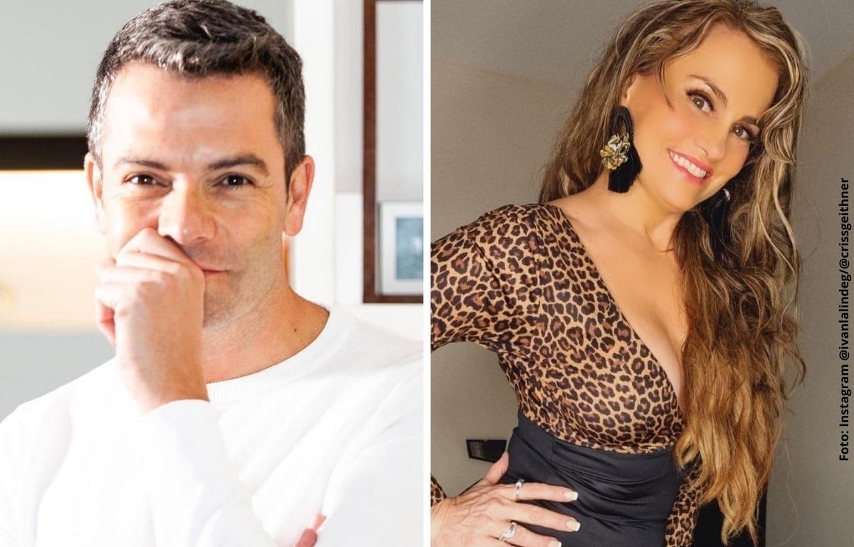 Iván Lalinde le hizo calurosa confesión a Aura Cristina Geithner