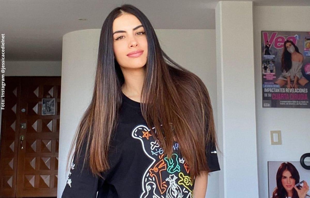 Jessica Cediel furiosa con persona que le envió ofensivo mensaje