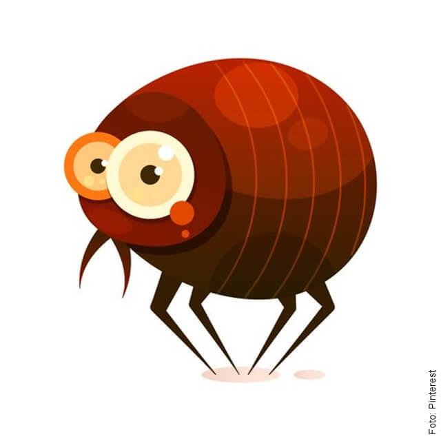 ilustración de una pulga