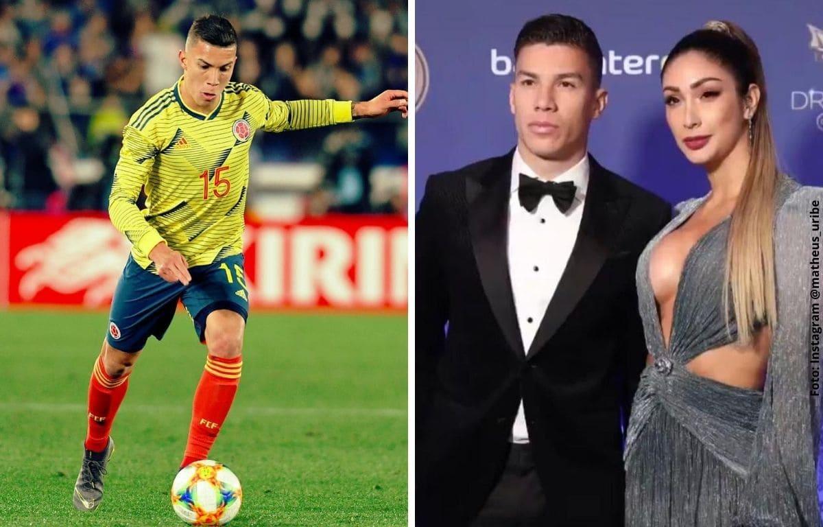 Mateus Uribe, jugador de la selección Colombia, se casará con hermosa mujer