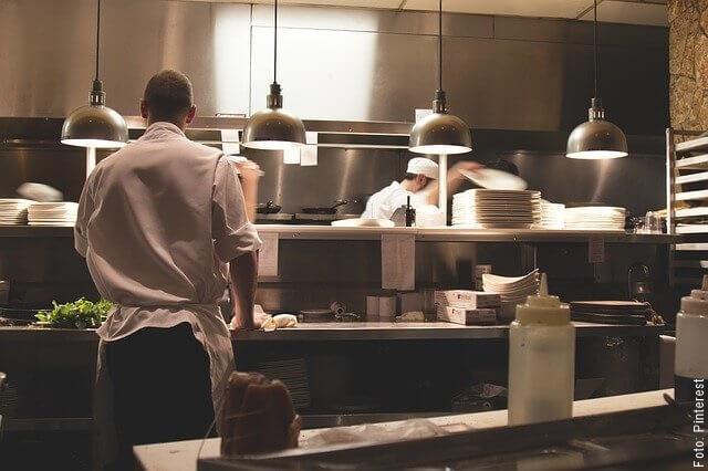 foto de cocina de restaurante