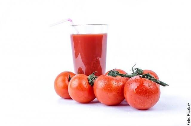 foto de jugo de tomate