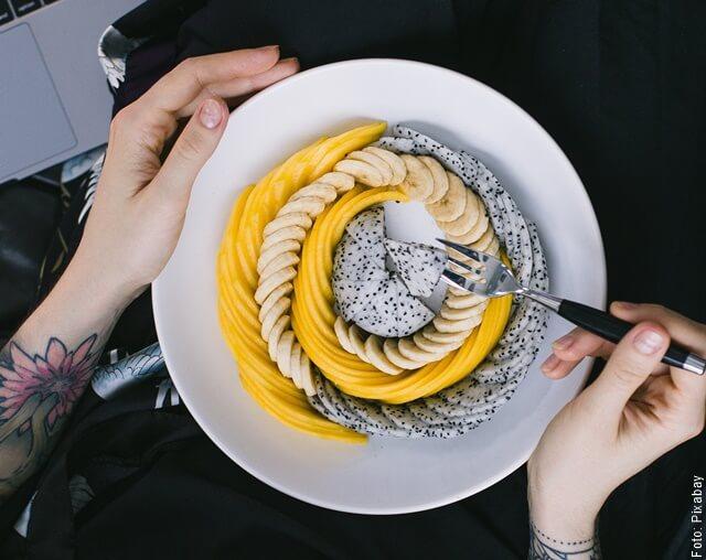 foto de plato saludable