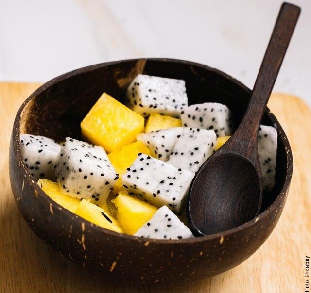 foto de bowl con pitahaya