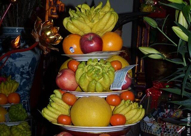 foto de muchas frutas