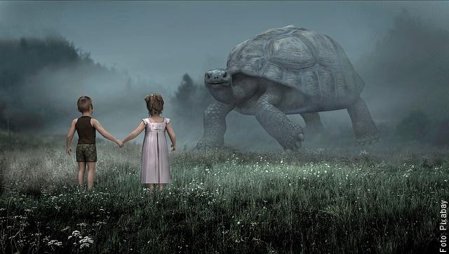 ilustración de tortuga gigante