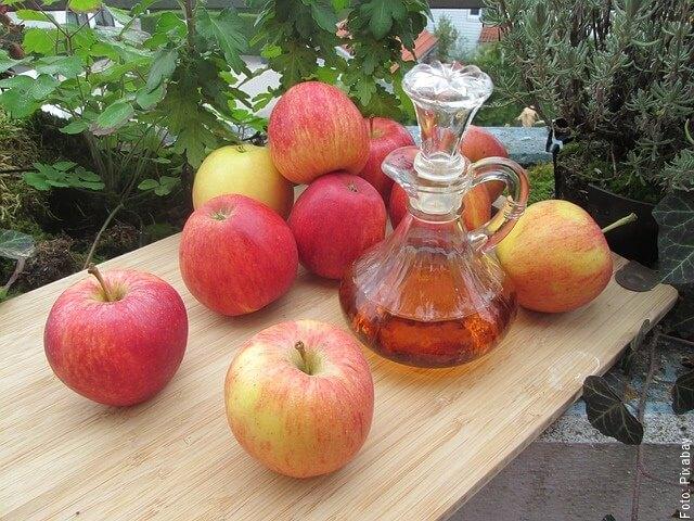 foto de vinagre de manzana