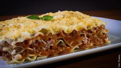 Receta de lasaña, ¡casera y fácil de preparar!