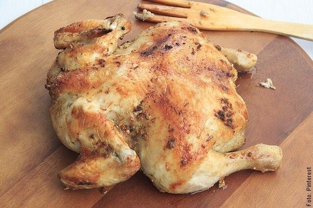 foto de pollo cocido