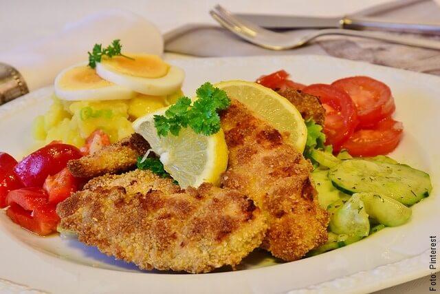 foto de alimentos cocinados