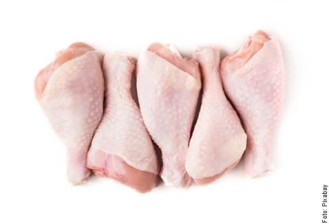 foto de muslos de pollo