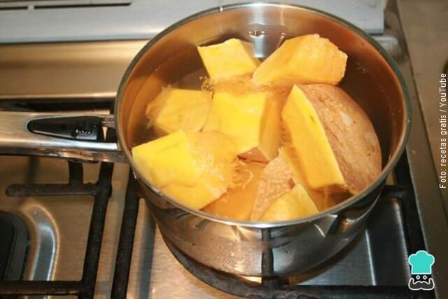 foto de cómo hacer torta de auyama