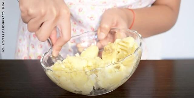 foto de cómo hacer torta de banano