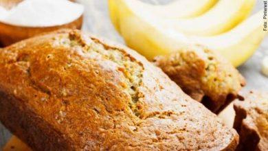 Esta receta de torta de banano es deliciosa, ¡hazla en casa!