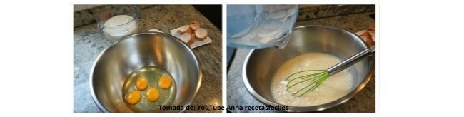 foto de huevos batidos