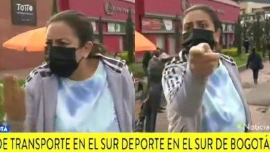 Regaño en vivo a periodista de Caracol por el paro nacional