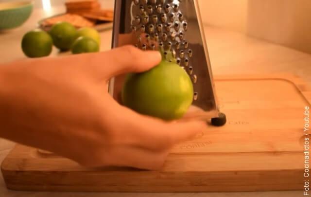 foto de la receta de pie de limón