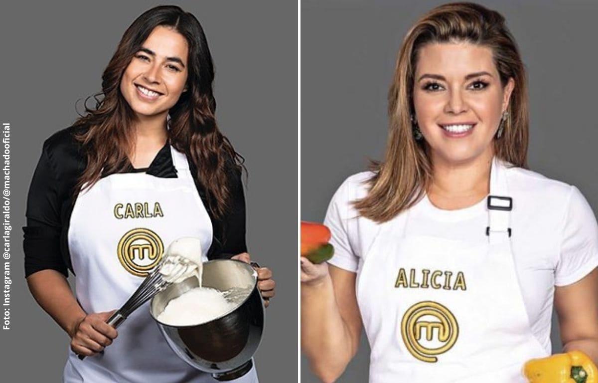 """Carla Giraldo aclaró si tuvo """"pelea"""" con Alicia Machado"""