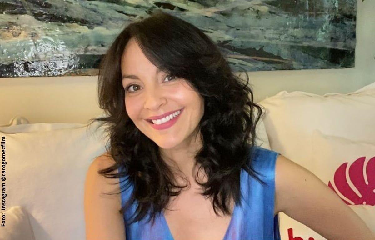 Carolina Gómez usó bikini que dejó al descubierto parte de su pelvis