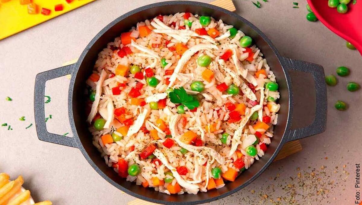 ¿Cómo hacer arroz con pollo? ¡Es hora de lucirte en casa!