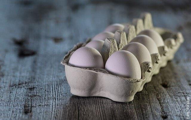 foto de huevos en docena