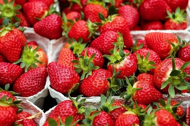 foto de fresas