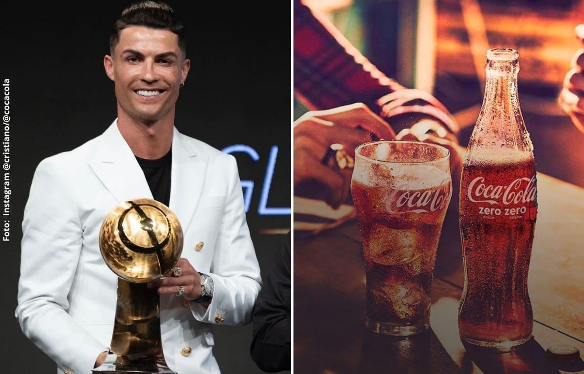 El dinero que ha perdido Coca Cola por culpa de Cristiano Ronaldo